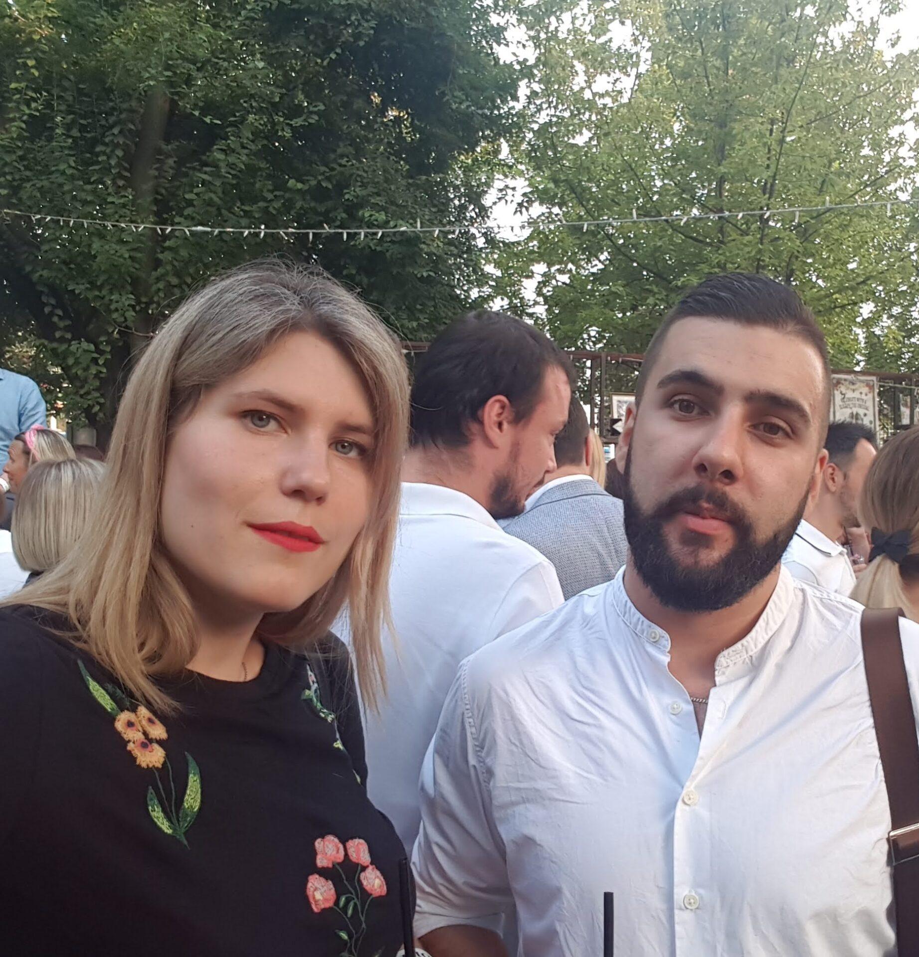 Lana Rogošić Blagojević i Renato Ostojić